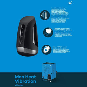 Satisfyer Men Heat Vibration Masturbator