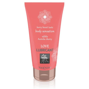 SHIATSU Love Lubricant - Acerola Cherry Flavoured - 75 ml