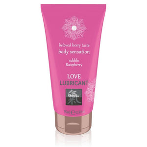 SHIATSU Love Lubricant - Raspberry Flavoured - 75 ml