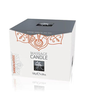 Shiatsu Massage Candle - Sandalwood Scented 130gr