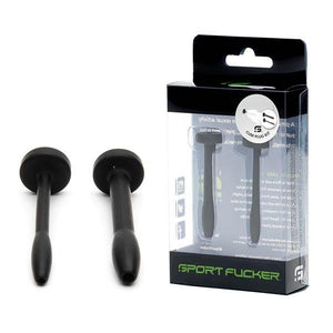 Sport Fucker Black Silicone Urethral Sound Kit