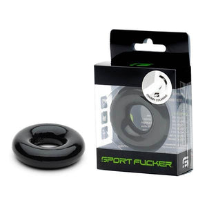 Sport Fucker Rubber Black Cock Ring