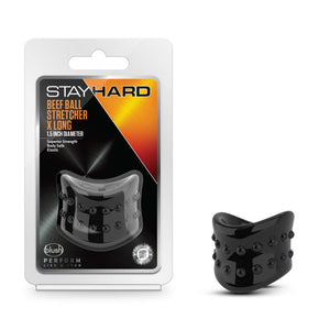 Stay Hard Beef Ball Stretcher X Long - Black