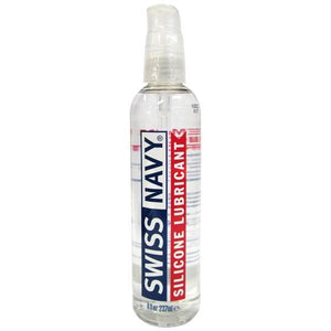 Swiss Navy Silicone - Premium Silicone Lubricant - 237 ml (8 oz) Bottle