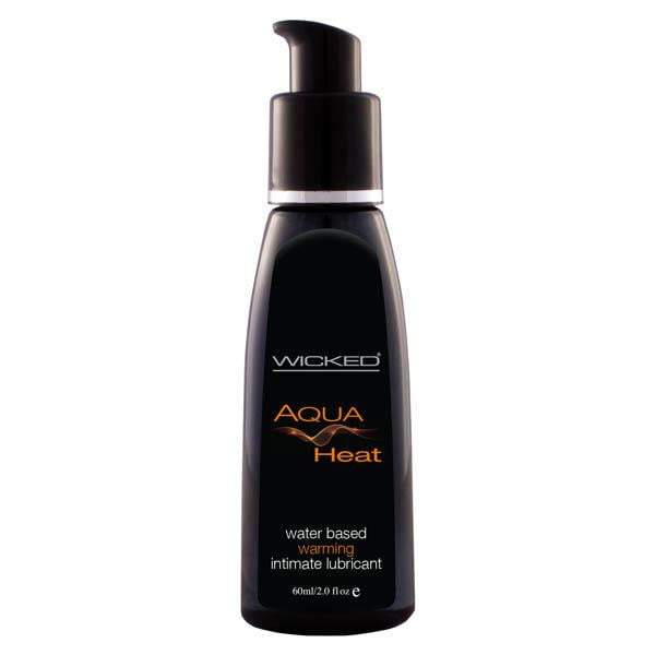 Wicked Aqua Heat - Warming Water Based Lubricant 60ml
