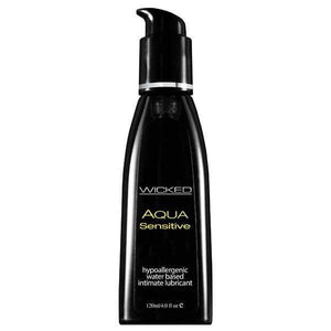 Wicked Aqua Sensitive - Water Based Lubricant - 120 ml (4 oz) Bottle
