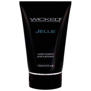 Wicked Jelle - Anal Lubricant - 120 ml (4 oz) Bottle