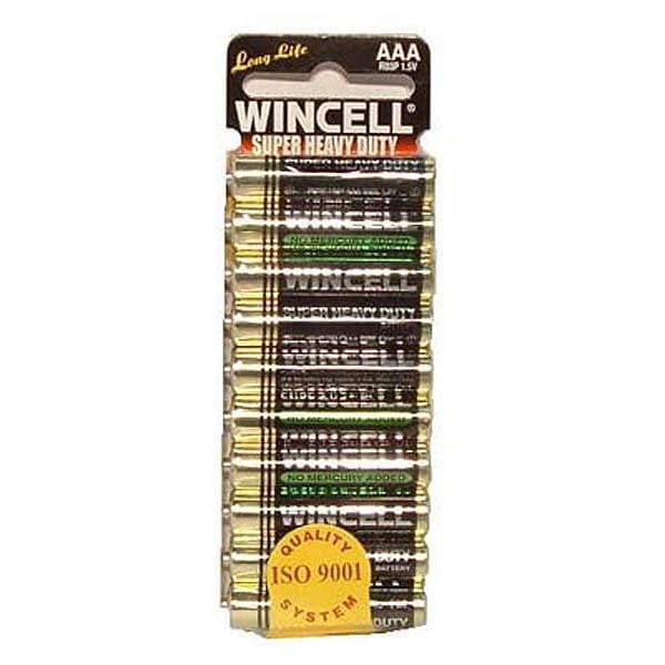 Wincell Aaa Super Heavy Duty Batteries - Super Heavy Duty Batteries - AAA 10 Pack