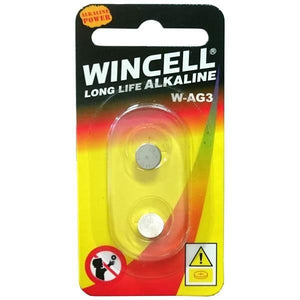 Wincell W392 Silver Oxide Cells - W392/AG3/SR41/LR41 - 2 Pack