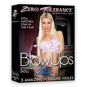 Zero Tolerance BlowUps Stepdaughter Doll - Blow Up Love Doll with DVD & Lube