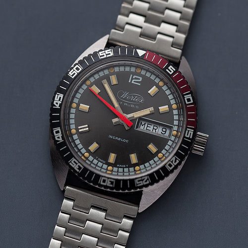 1970s Wertex Diver New-Old-Stock