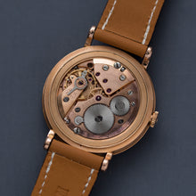 Load image into Gallery viewer, 1940s Omega Cosmic Jumbo Rose Gold