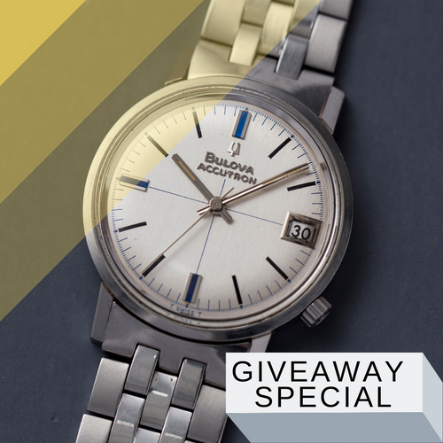 SPECIAL GIVEAWAY 1967 Bulova Accutron Cal.218D - NOT FOR SALE