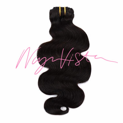 Body Wave Clip-in Hair