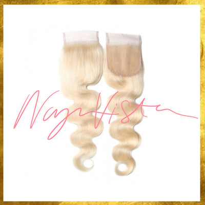 Body Wave Closure - Blonde