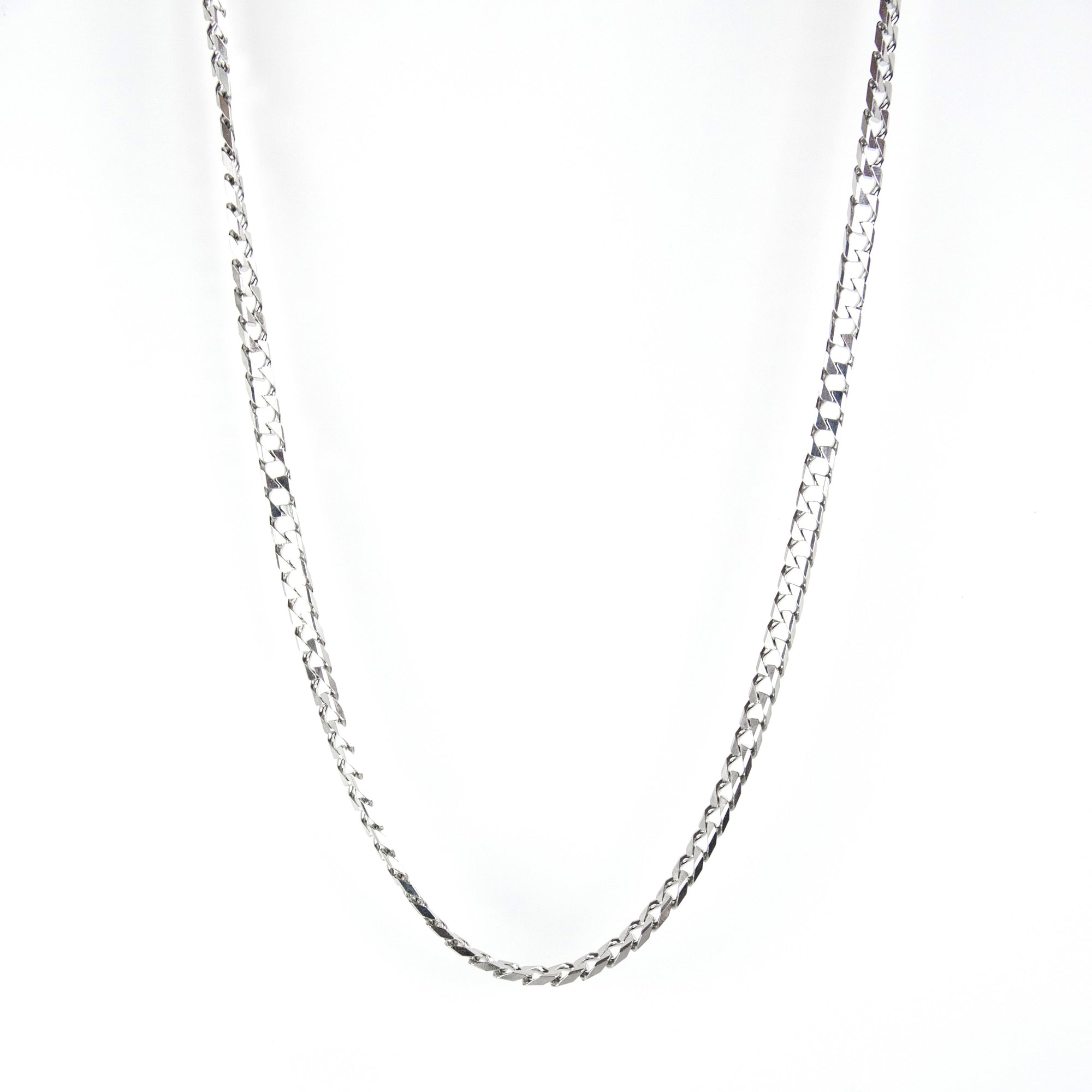 Silver Lead Necklace