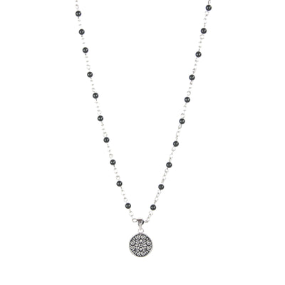 Rosary Onyx Beads Necklace