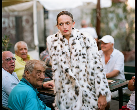 Marei1998. Maya's Diary. Napoli. Tiger Lily Faux Fur Coat In Linca Color.