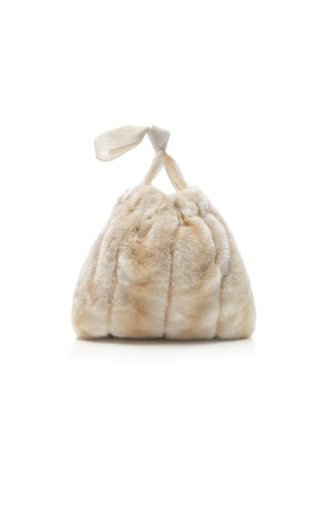 Frangipani_Eco_Faux_Fur_Small_Handbag_Beige_Back
