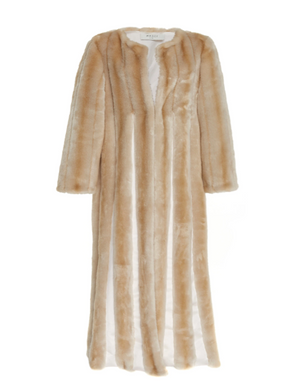 Mallow Eco Faux Fur Long Coat