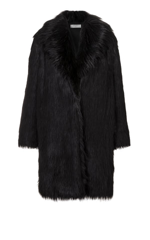 Datura Faux Fur Long Coat