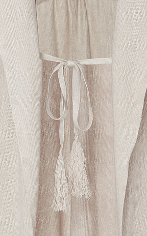 Marei1998_Stephanotis_Silk_Cashmere_Knitted_Cardigan_Sand_Detail
