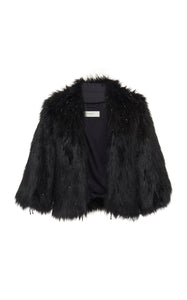 Winterberry Eco Fur Bolero