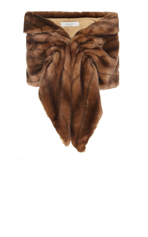 Moonflower Eco Faux Fur Stole