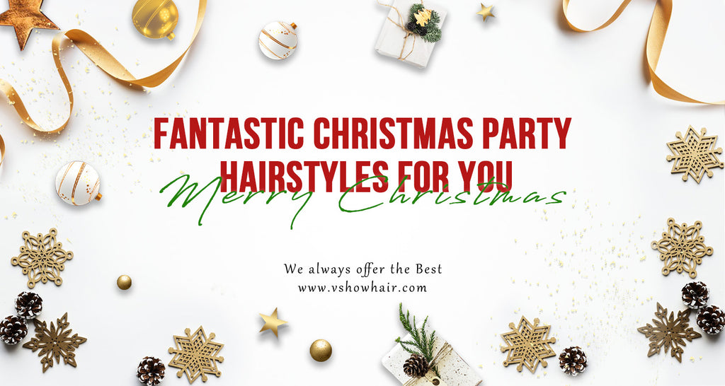 Fantastic Christmas Party Hairstyles for You