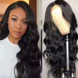 VSHOW HAIR Premium 9A Body Wave Human Hair Full Lace Wigs Natural Black