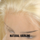 VSHOW HAIR Honey Blonde #613 Virgin Body Wave Human Hair Full Lace Wigs