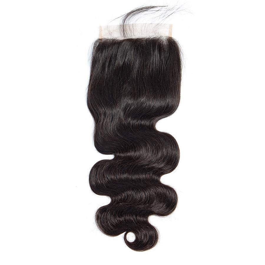 VSHOW HAIR Premium 9A Mongolian Virgin Human Hair Body Wave 3 or 4 Bundles with Closure Popular Sizes