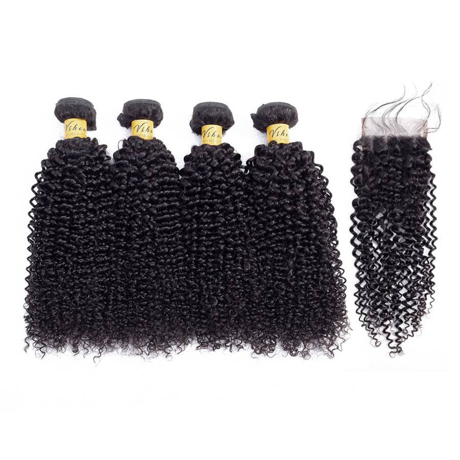 brazilian virgin hair kinky curly human hair bundles