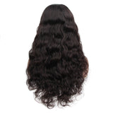 VSHOW HAIR Premium 9A Malaysian Loose Deep Wave Human Hair U Part Wigs Natural Black