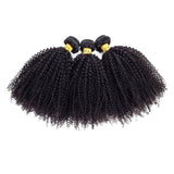 malaysian virgin hair afro curly human hair bundles