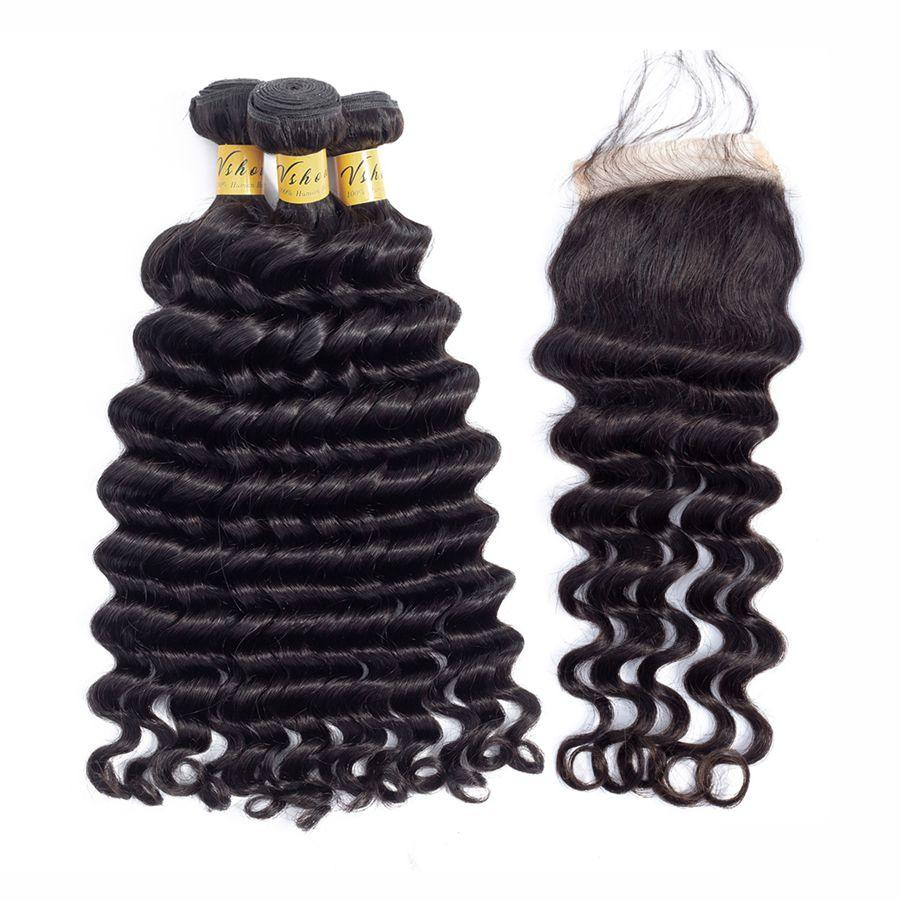 indian virgin hair loose deep wave human hair bundles