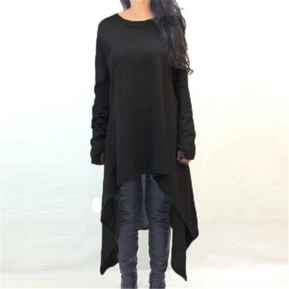 Samantha Long Sleeve Knitted Sweater Dress