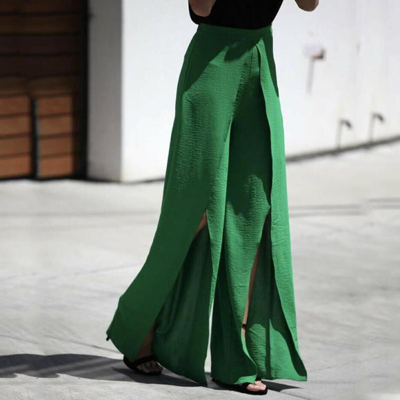 Clarissa Loose Wide Leg High Waist Palazzo Pants in 3 colors
