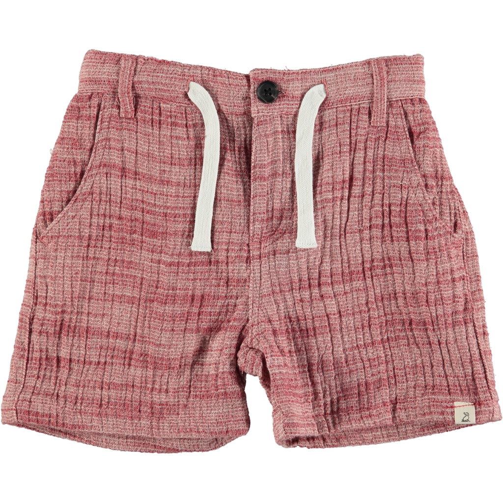 Red Gauze Shorts