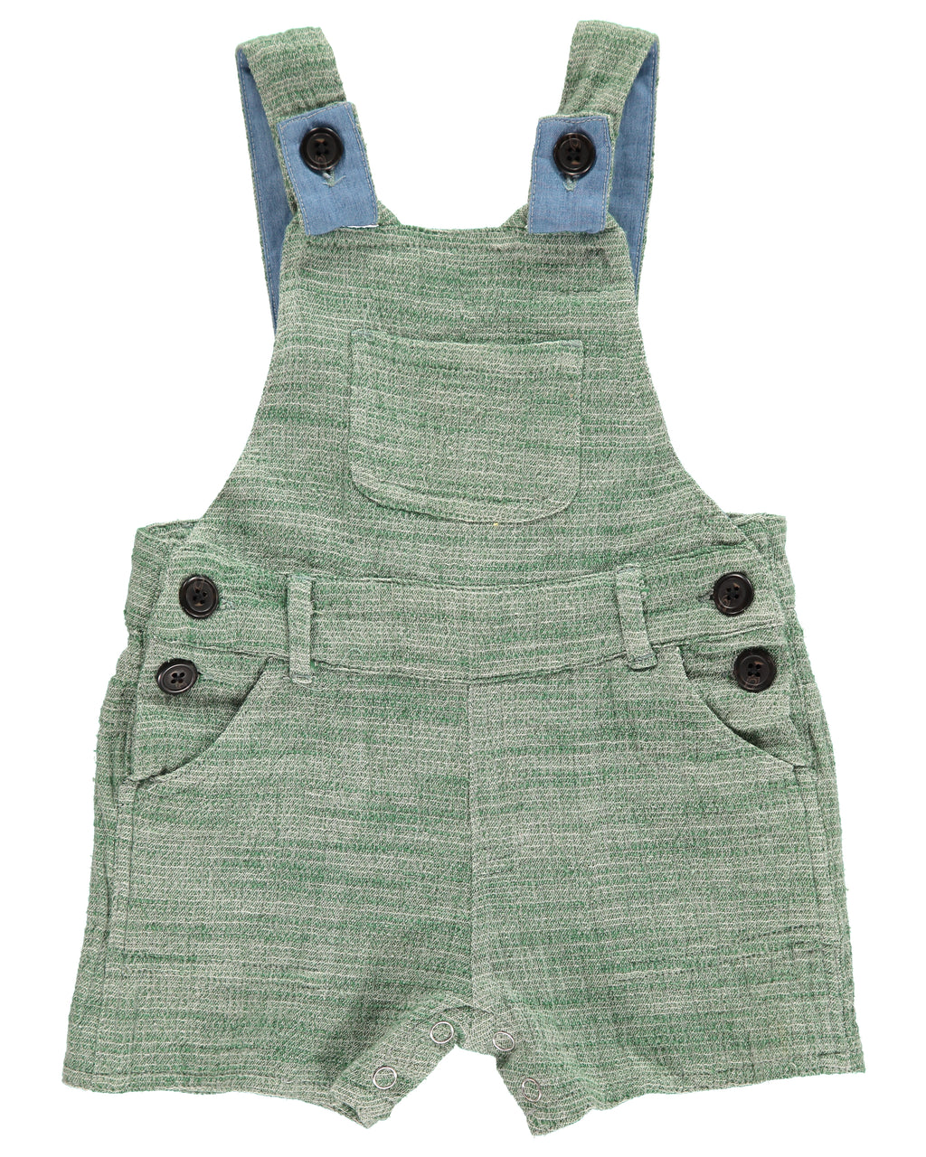 Green Shortie Overall