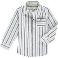 Blue/white stripe shirt