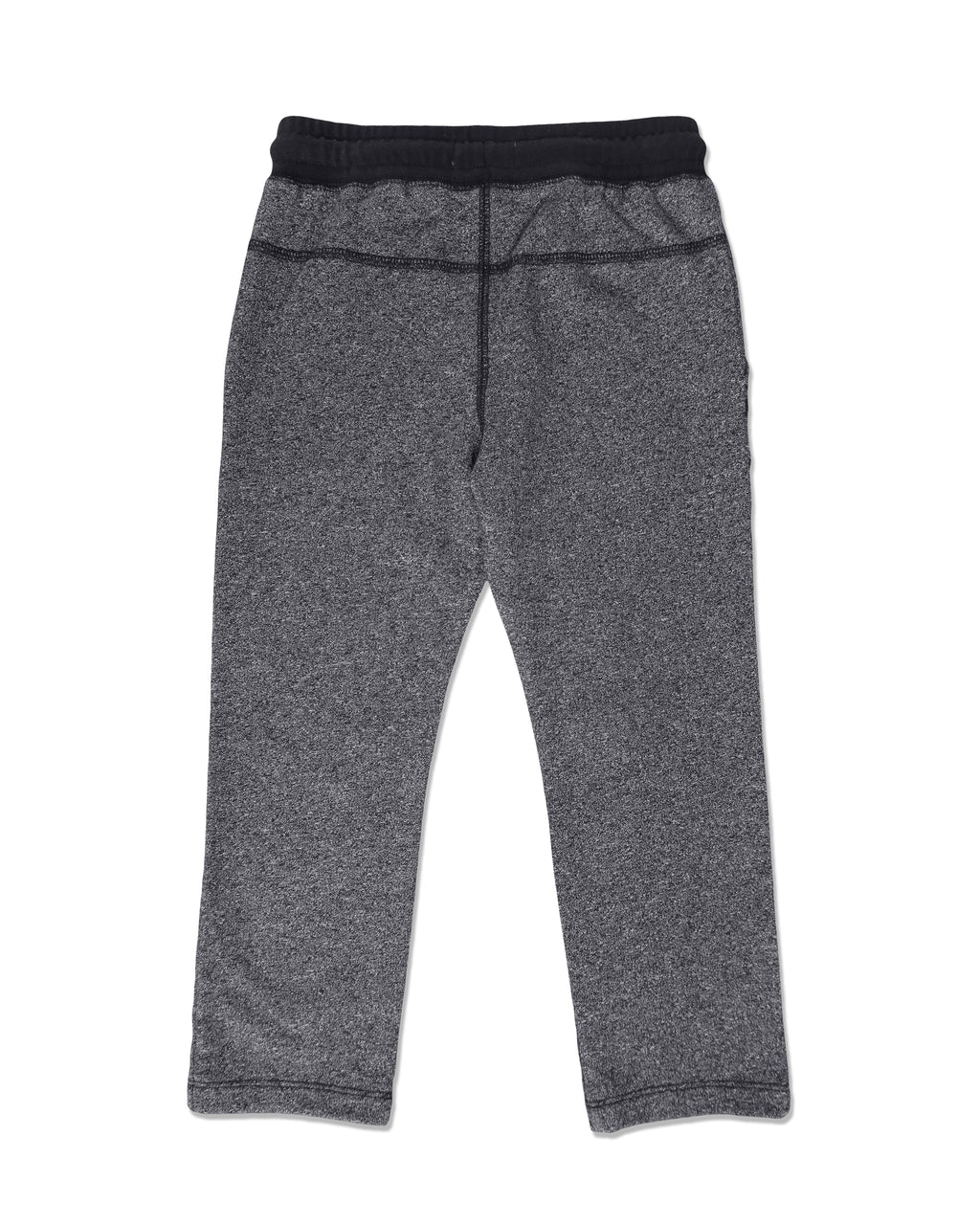 back image of grey jog pants with pockets