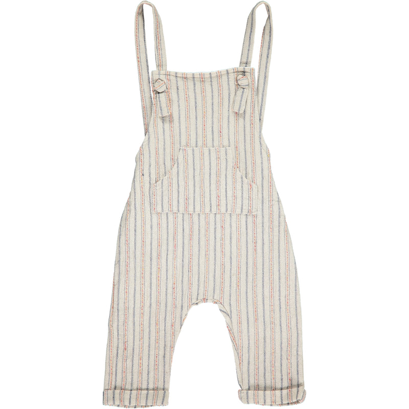 Woven knotted overalls