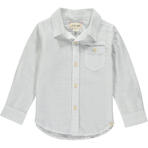 MEN'S White cotton shirt