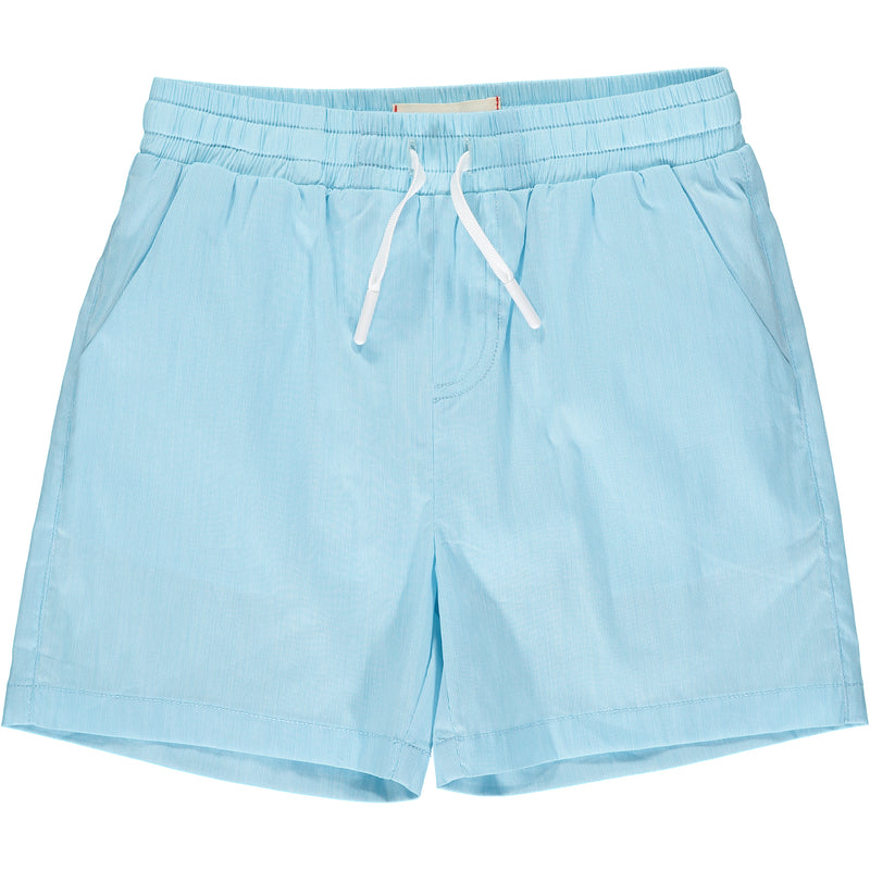 Aqua micro stripe swim shorts