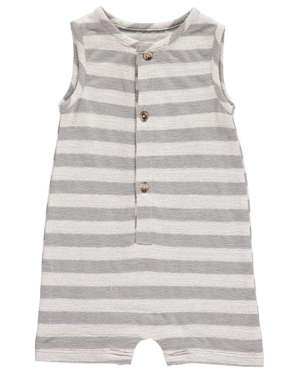 Grey Stripe Jersey Playsuit