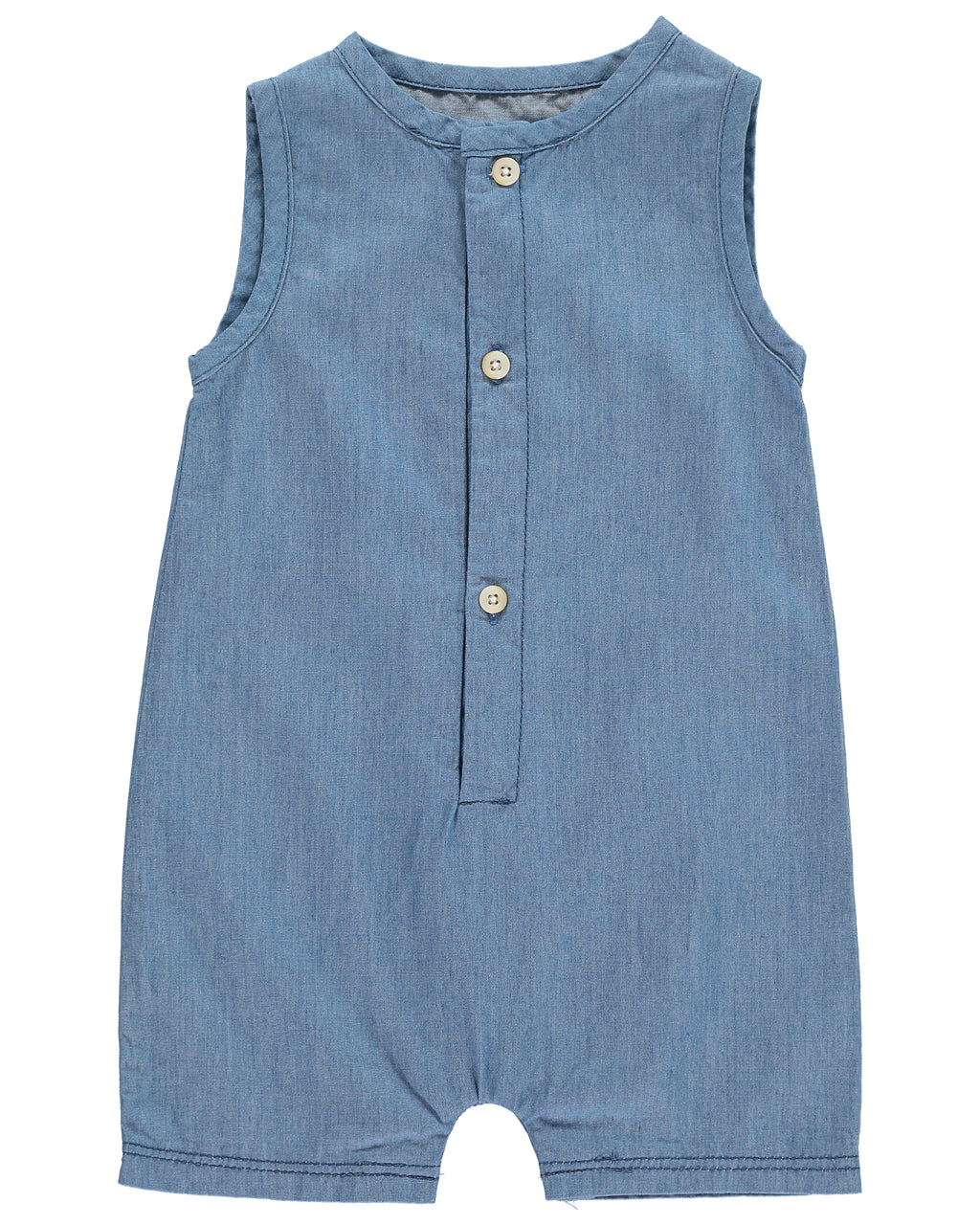 Chambray Woven Playsuit
