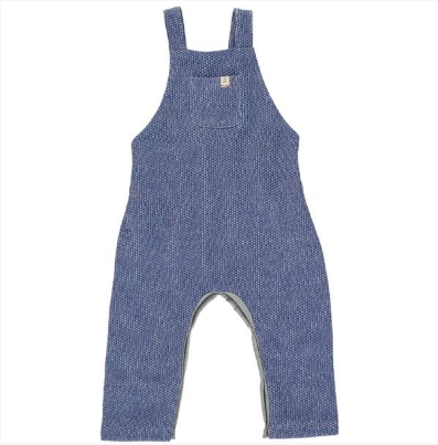 Blue sweat overalls