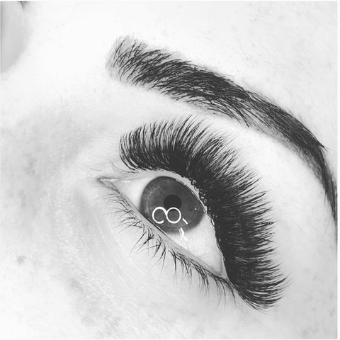 Mega volume lash extensions at Tham Vo Studio Melbourne