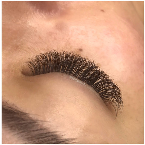 Damage free, mascara free lash extensions at Tham Vo Studio